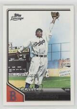 2011 Topps Lineage 42 Jackie Robinson Los Angeles Dodgers Brooklyn Baseball Card