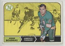1968-69 Topps #53 Andre Boudrias Minnesota North Stars RC Rookie Hockey Card