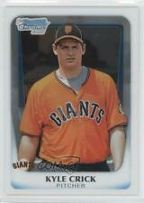 2011 Bowman Draft Picks & Prospects Chrome #BDPP24 Kyle Crick Baseball Card