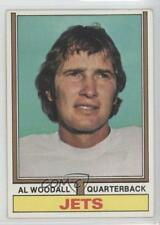 1974 Topps #227 Al Woodall New York Jets RC Rookie Football Card