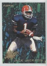 1995 Fleer NFL Prospects #9 Jack Jackson Florida Gators Rookie Football Card
