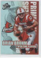 2008 Press Pass Primetime Players #PP-5 Brian Brohm Louisville Cardinals Card