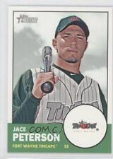 2012 Topps Heritage Minor League Edition #28 Jace Peterson Fort Wayne TinCaps