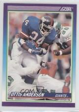 1990 Score #531 Ottis Anderson New York Giants Football Card