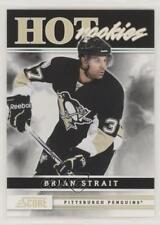 2011-12 Score #531 Brian Strait Pittsburgh Penguins RC Rookie Hockey Card