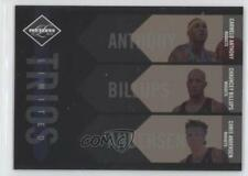 2010-11 Limited Trios #3 Carmelo Anthony Chauncey Billups Chris Andersen Card
