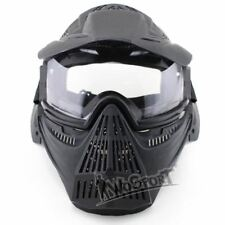 Tactical Lens Mask Full Face Breathable Hunting Military Airsoft Masks Paintball