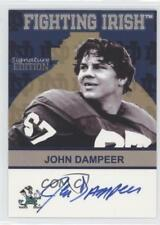 2003 2003-07 TK Legacy Notre Dame #FI52 John Dampeer Fighting Irish Auto Card