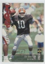 1995 Upper Deck Collector's Choice Update #U14 Eric Zeier Cleveland Browns Card