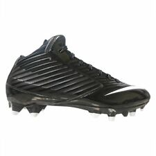 Nike Mens Vapor Speed Mid TD Football Cleat Black/White