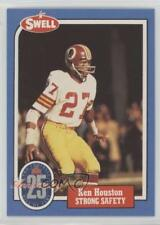 1988 Swell Football Greats Hall of Fame 132 Ken Houston Washington Redskins Card