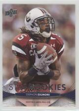 2012 Upper Deck #205 Stephon Gilmore South Carolina Gamecocks RC Football Card