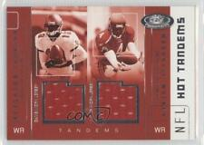 2002 Fleer Hot Prospects #KJ-MW Keyshawn Johnson Marquise Walker Football Card