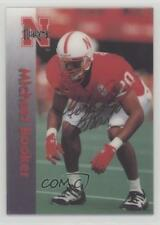 1996 Summit Nebraska Cornhuskers #20 Michael Booker Rookie Football Card