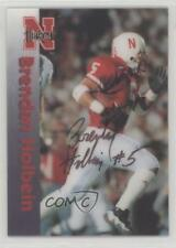 1996 Summit Nebraska Cornhuskers #5 Brendan Holbein Rookie Football Card
