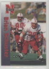 1996 Summit Nebraska Cornhuskers #28 Brian Schuster Rookie Football Card