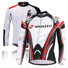 Cycling Jersey Long Sleeve Bike Shirts Gear Apparel Breathable Bicycle Clothing