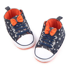 Toddler Canvas Shoes Crib Prewalker Sneakers Casual Shoes Baby Boys