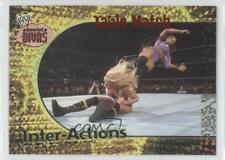 2002 Fleer WWE Absolute Divas Inter-Actions #8 Table Match Wrestling Card