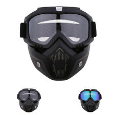 Motorcycle Face Protection Mask Goggles Windproof Shield Helmet Eyewear