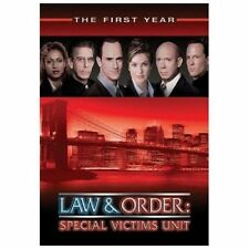 Law & Order: Special Victims Unit The First Year (DVD, 2003, 6-Disc Set New Seal