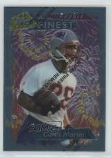 1995 Topps Finest 264 Curtis Martin New England Patriots RC Rookie Football Card