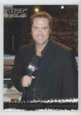 2009 Topps UFC Round 1 #95 Mike Goldberg MMA Card