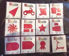 SIZZIX LARGE RED DIE-CUTS SELECT * DISCONTINUED * RETIRED DIES
