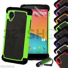 32nd Dual-Layer Shockproof Case Google Nexus Phones + Screen Protector & Stylus