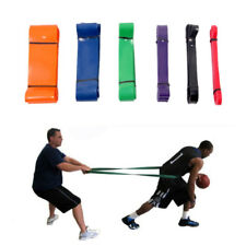 Mini Elastic Resistance Loop Bands Exercise Yoga Fitness Gym Training Tube Set D