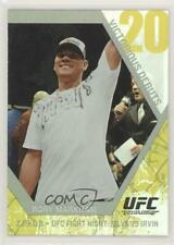 2009 Topps UFC Round 1 Victorious Debuts #VD7 Rory Markham MMA Card