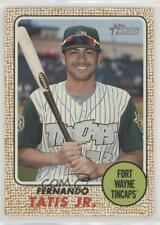 2017 Topps Heritage Minor League Edition 99 Fernando Tatis Jr Fort Wayne TinCaps