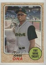 2017 Topps Heritage Minor League Edition #127 Jorge Ona Fort Wayne TinCaps Card