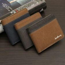 Credit/ID Card Holder Slim Coin Purse Pocket Canvas Bifold Wallet New Mens C0131