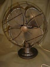 VINTAGE Emerson Electric 3 Speed 4 BLADE Oscillating Fan TYPE 77646 SG WORKS
