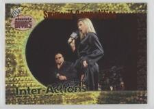 2002 Fleer WWE Absolute Divas Inter-Actions 1 Swimsuit Competition Stacy Keibler