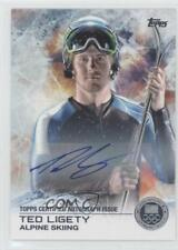 2014 Topps US Olympic & Paralympic Team and Hopefuls #56 Ted Ligety Auto Card