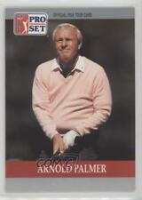 1990 PGA Tour Pro Set #80 Arnold Palmer Rookie Golf Card