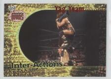 2002 Fleer WWE Absolute Divas Inter-Actions #11 Lita and Trish v Jazz Ivory Card