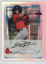 2011 Bowman Chrome Prospects Refractor #BCP100 Sean Coyle Boston Red Sox Card