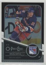 2011 O-Pee-Chee Rainbow Foil Black Border #321 Brian Boyle New York Rangers Card