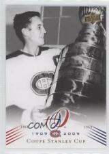 2008 #192 Coupe Stanley Cup (Montreal Canadiens Team) Montreal Team Hockey Card