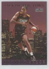 1999-00 WNBA Hoops Skybox Talk of the Town #7TT Cindy Brown Detroit Shock (WNBA)