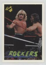 1990 Classic WWF #28 The Rockers Shawn Michaels Marty Jannetty Wrestling Card