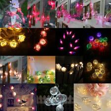 Battery Operated String Fairy Light Party Wedding Christmas Garden Lights Decor