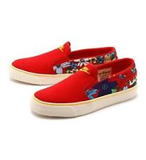 Nike Red TOKI Aloha Bright Floral Thick Canvas Slip-on Shoes NEW Wms NWOT DISC