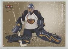 2008-09 Fleer Ultra Gold Medallion 4 Kari Lehtonen Atlanta Thrashers Hockey Card