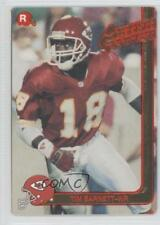 1991 Action Packed Rookies #48 Tim Barnett Kansas City Chiefs Football Card
