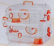 3 Color, New Sparkle 2 Levels Habitat Hamster Rodent Gerbil Mouse Mice Cage