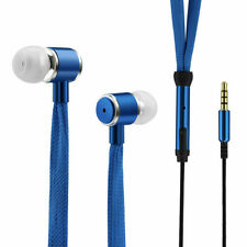 Shoelaces Earphone Stereo Sound Metal Bass Headphones Headset Music Earpieces
